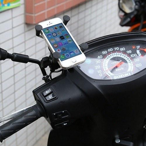 universele X-Grip smartphone houder voor motor en scooter model ram