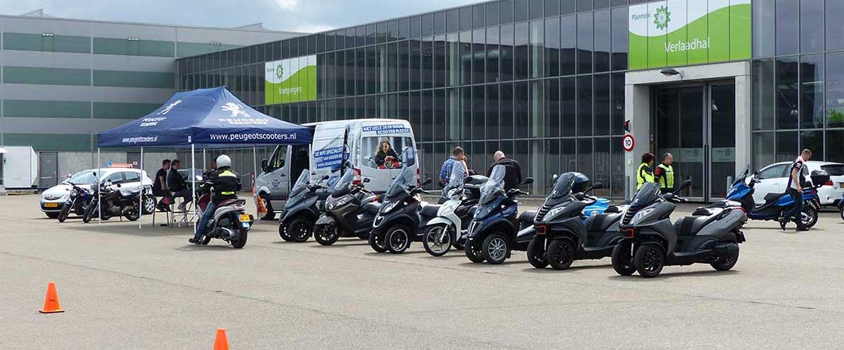 Test dag Piaggio MP3/ (motor) scooter 1