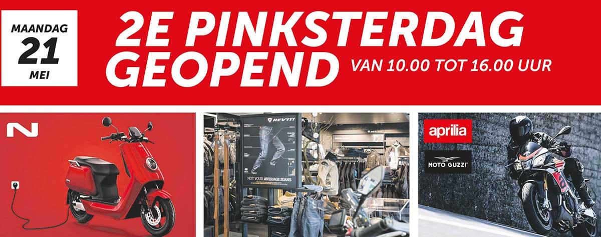 2e Pinksterdag geopend