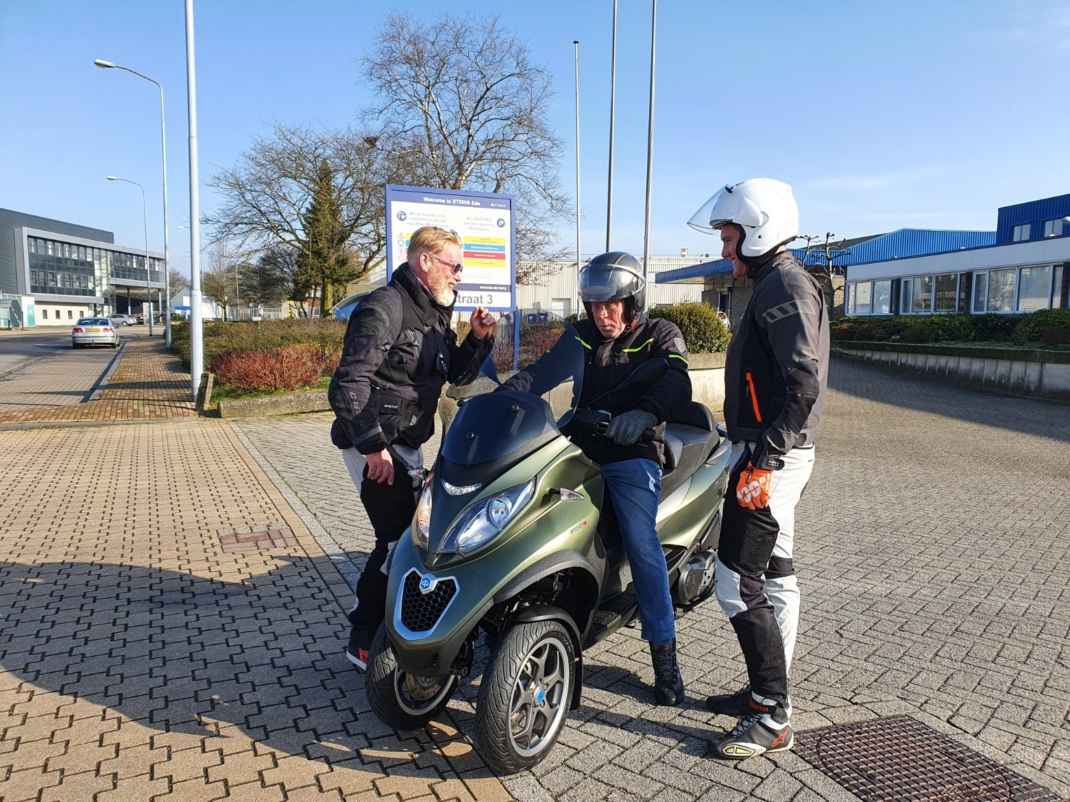 Testdag Piaggio MP3 / (motor) scooter 2