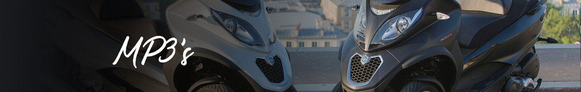 Piaggio MP3-motorscooter informatie