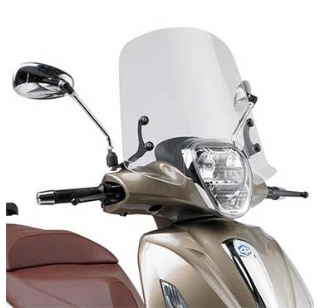 Givi windscherm bev. set Piaggio Beverly