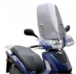 Kymco People S windscherm smoke