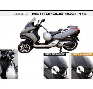 Peugeot Metropolis buddyseat slot