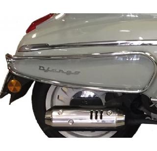 Peugeot Metropolis dubbel U slot