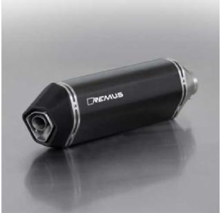 Remus uitlaat Piaggio MP3 400/500 cc carbon