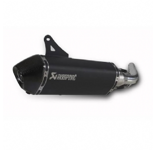 Akrapovic uitlaat Vespa GTS 250/300 black edition