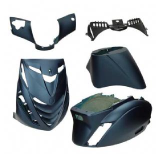 Piaggio Zip SP plaatwerkset mat blauw 5 delig