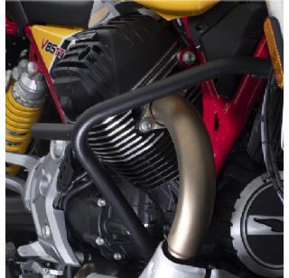 Arrow slip-on sport demper voor de Moto Guzzi V85