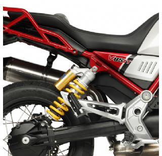 Arrow slip-on sport demper voor de Moto Guzzi V85