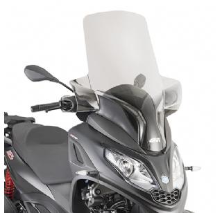 Givi Windscherm Piaggio MP3 300 HPE verhoogd D5614ST