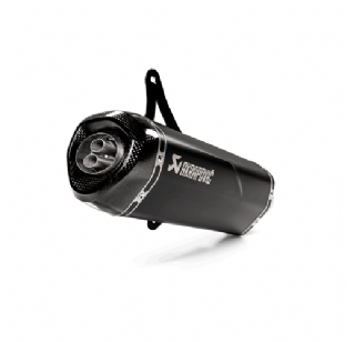 Akrapovic uitlaat vespa GTS 300 black edition 2020 model