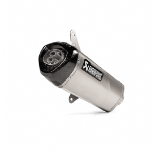Akrapovic uitlaat vespa GTS 300 RVS 2020 model