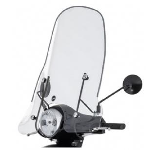 Sym Fiddle 2 windscherm